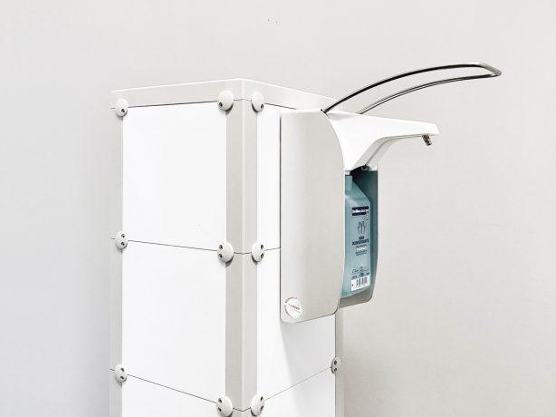 Desinfektionsspender in einem Eleganten Design